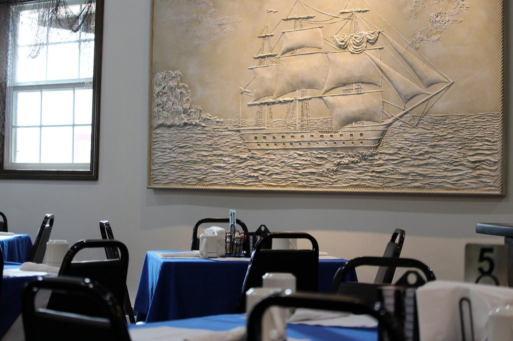 Captains Galley Room
